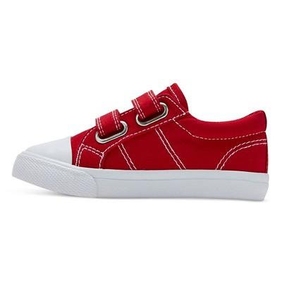 Toddler Boys' Carter Double Strap Sneakers Cat & Jack - Red 7, Toddler Boy's