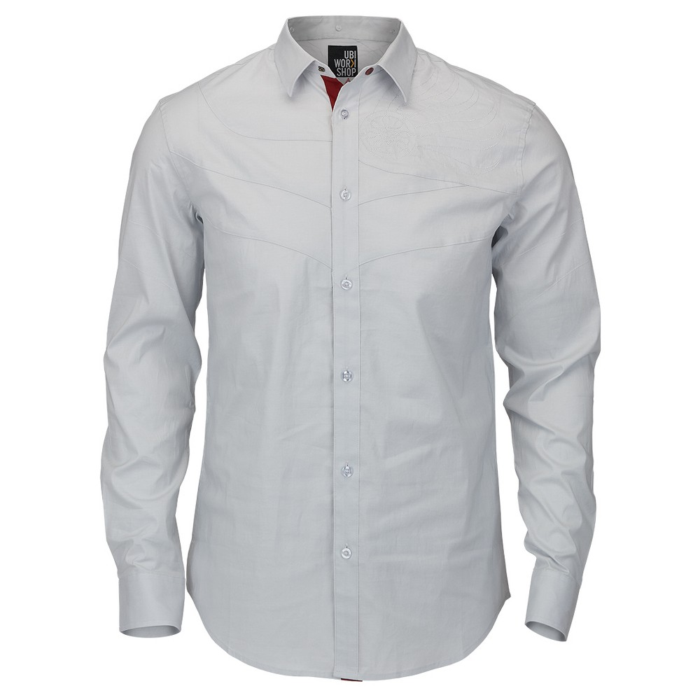 Assassin's Creed Legacy Collection - Ezio Dress Shirt, Size: Xxl, Gray