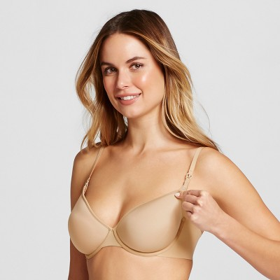 Women's Nursing Lightweight Smoothing Bra - Gilligan & O'Malley™ Honey Beige 34D