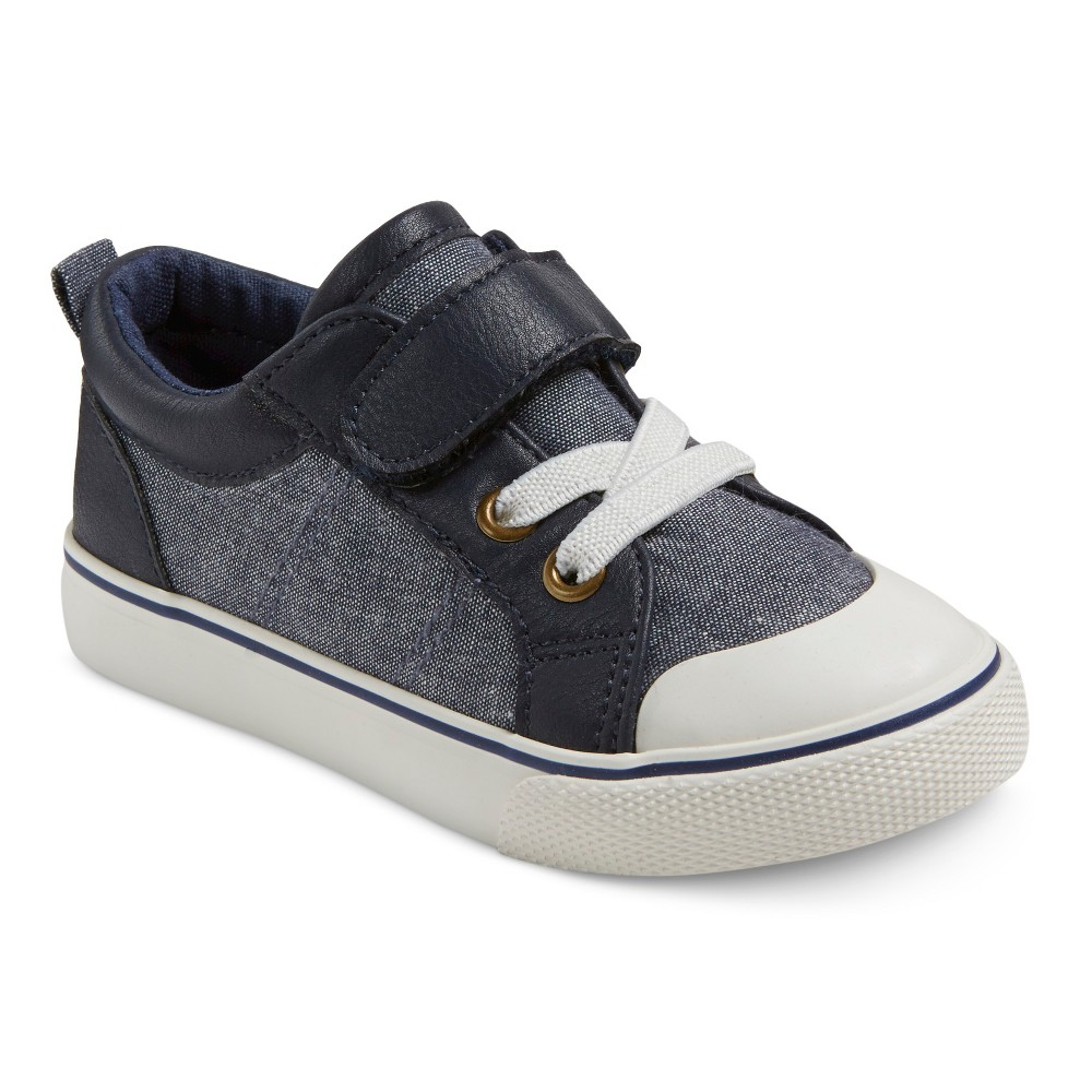 Toddler Boys' Connor One Strap Sneakers Cat & Jack – Navy 5, Toddler Boy's, Blue