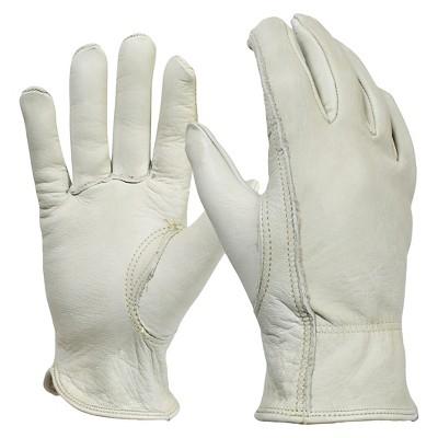 Women's Full-Grain Leather Gardening Gloves, Cream - Smith & Hawken™