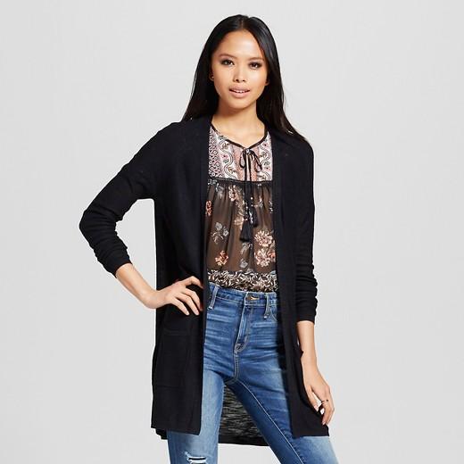 Women's Open Cardigan Sweater - Mossimo™ : Target