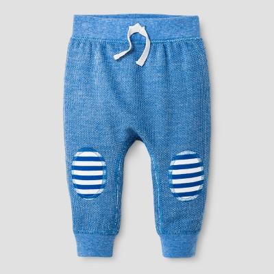 Baby Boys' Speckle Jogger Pants - Cat & Jack™ Blue Streak 3-6 M