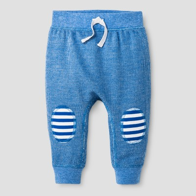 Baby Boys' Speckle Jogger Pants - Cat & Jack™ Blue Streak 0-3 M