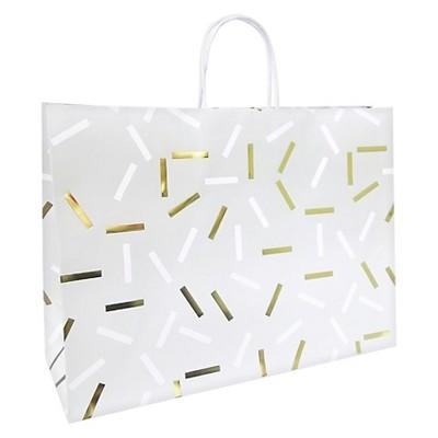 Silver & Gold Flecks Gift Bag - Spritz™