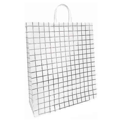 Silver Grid Gift Bag - Spritz™