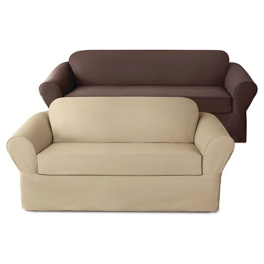 Stretch twill slipcover collection sure fit target for Sure fit stretch slipcovers clearance