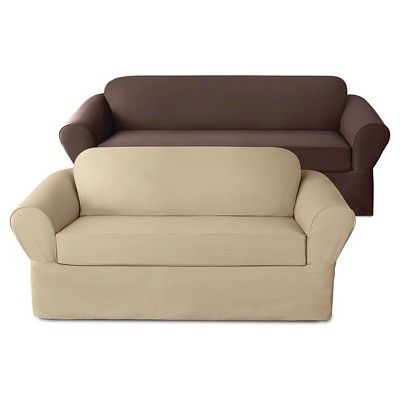 Stretch Twill Slipcover Collection   Sure Fit