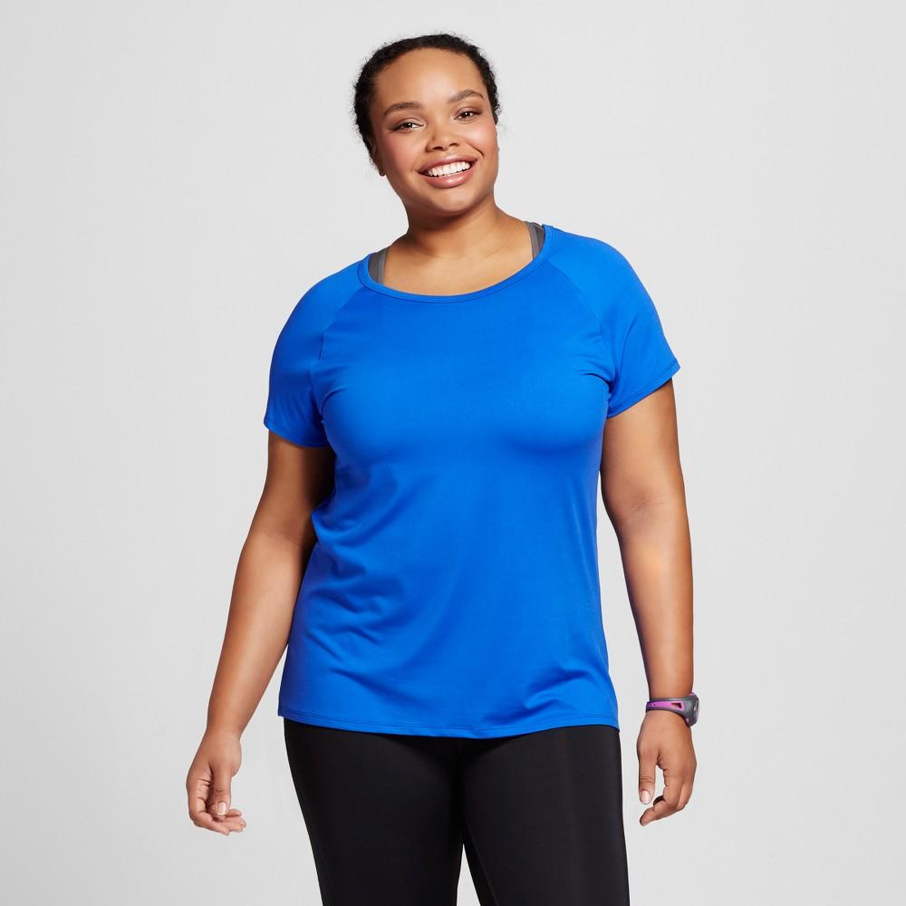 Women's Plus-Size Cut Out T-Shirt - C9 Champion Flight Blue 3X