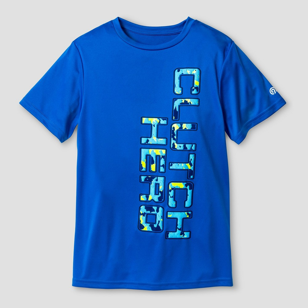 Boys Graphic Tech T-Shirt Blue XS C9 Champion - Clutch Hero