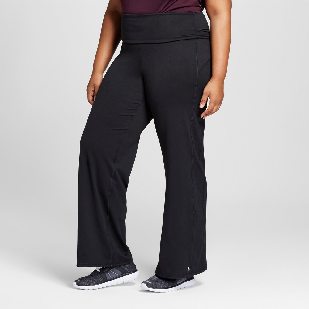 Womens Plus-Size Freedom Straight Pants - C9 Champion Black 3X