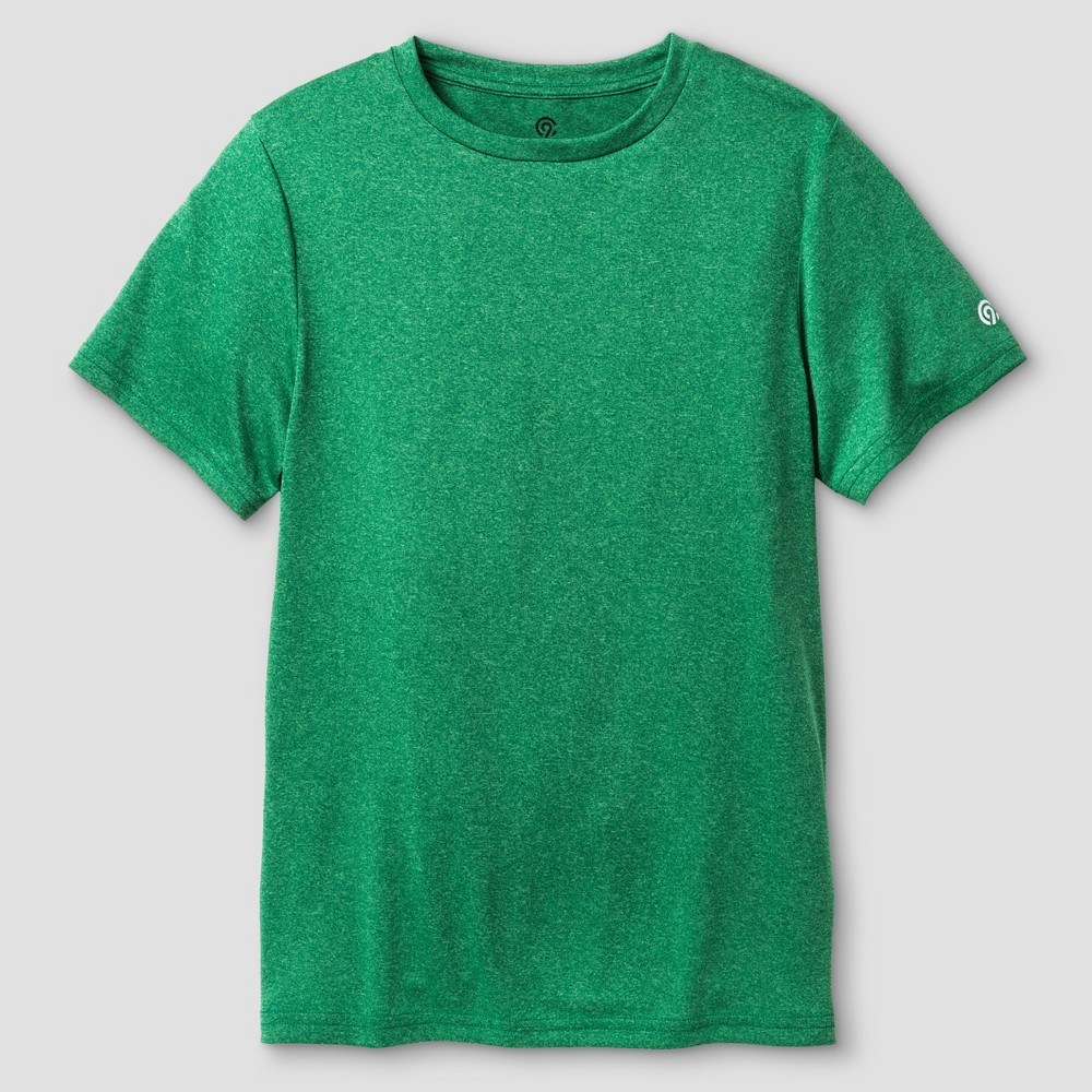 Boys' Tech T-Shirt - C9 Champion Bright Green Heather XL