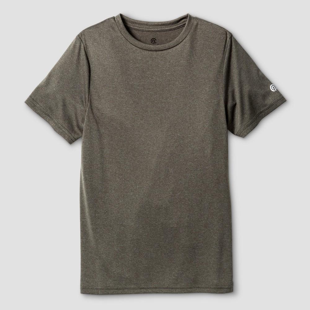 Boys' Tech T-Shirt - C9 Champion Olive Green Heather M