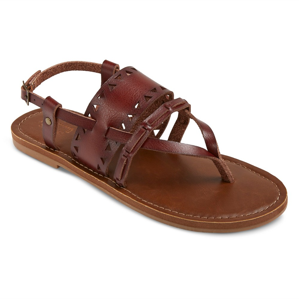 Womens Sonora Thong Sandals - Mossimo Supply Co. Brown 5.5