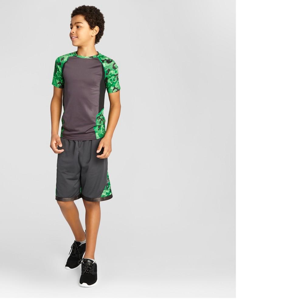 Boys Novelty Compression Shirt - C9 Champion Green XS