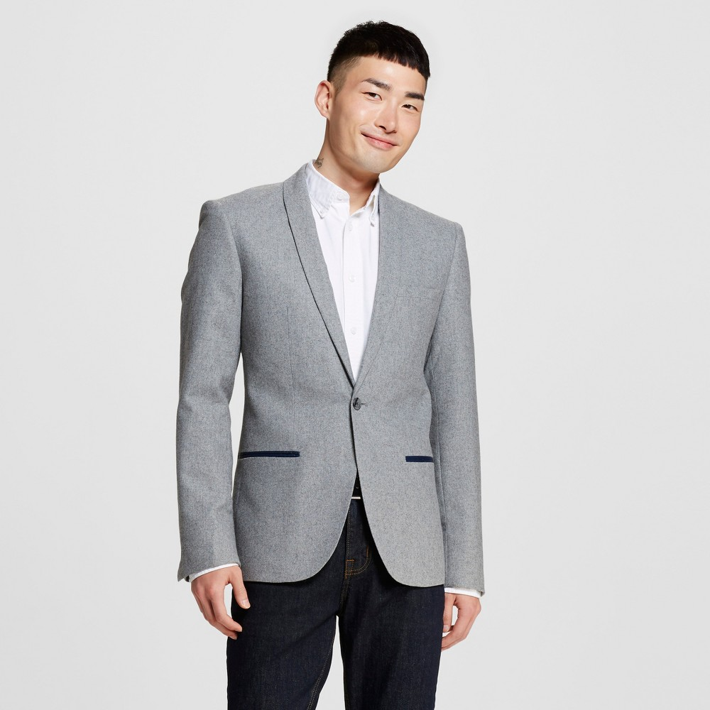 Men's Blazers L Light Grey Heather – WD-NY Black