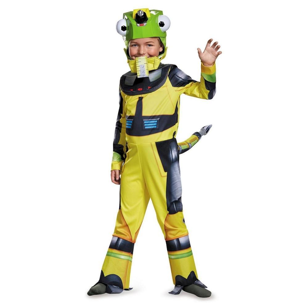 Dinotrux Boys Revitt Deluxe Toddler Costume, Size: 3T-4T, Multi-Colored