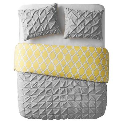 Charcoal Scottsdale Reversible Duvet Cover Set (Full/Queen)3 Piece - VCNY®