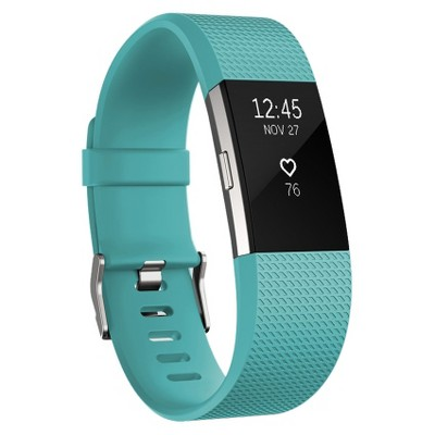 Fitbit® Charge 2 Heart Rate + Fitness Wristband - Teal (Large)