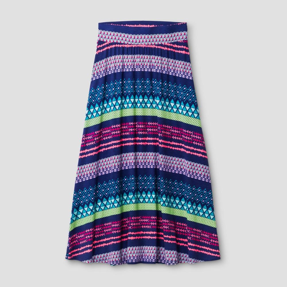Girls Maxi Skirt - Cat & Jack Blue Iris XS, Size: XS (4-5), Purple