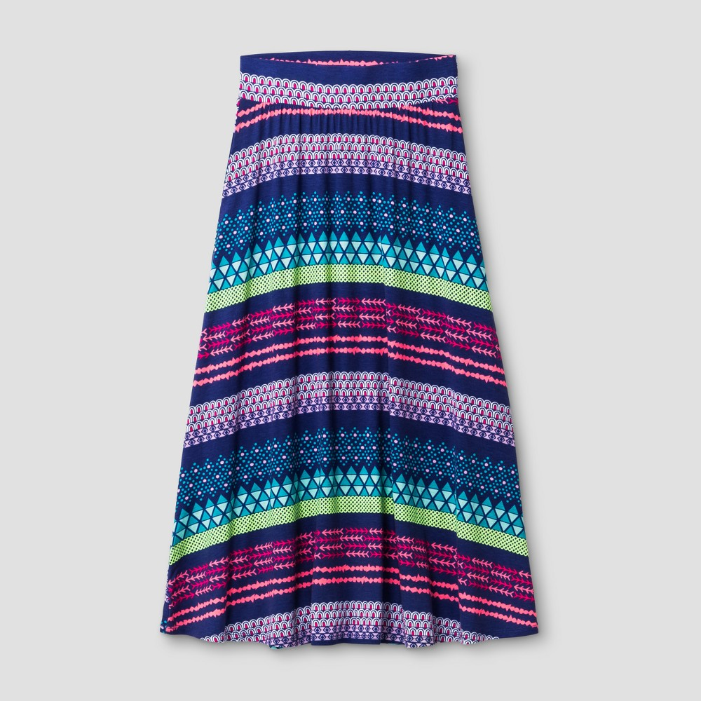 Girls Maxi Skirt Cat & Jack Blue Iris XL, Size: XL(14-16), Purple