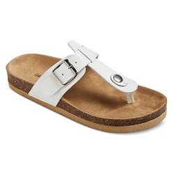 Girls' Norin Footbed Sandals Cat & Jack™ - White