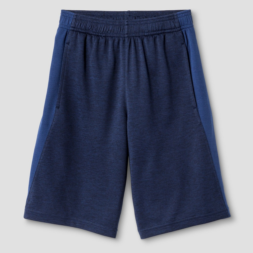Boys' Heather Training Shorts - C9 Champion Navy (Blue) Heather L