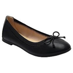 Girls' Brandee Ballet Flats Cat & Jack™ - Black