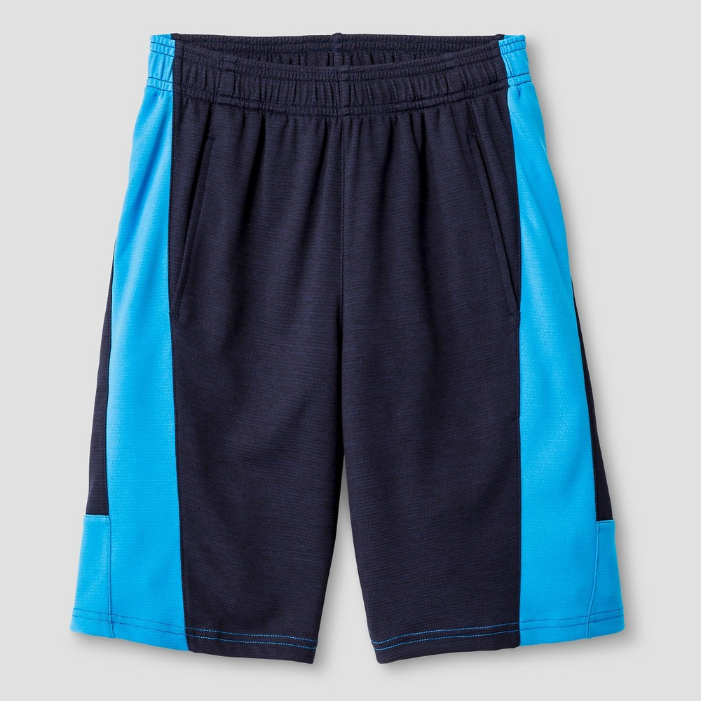 Boys Textured Knit Shorts - C9 Champion Navy L, Xavier Navy