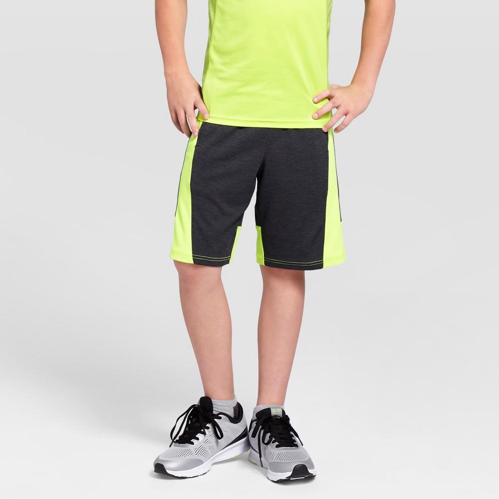 Boys Textured Knit Shorts - C9 Champion Charcoal (Grey) M