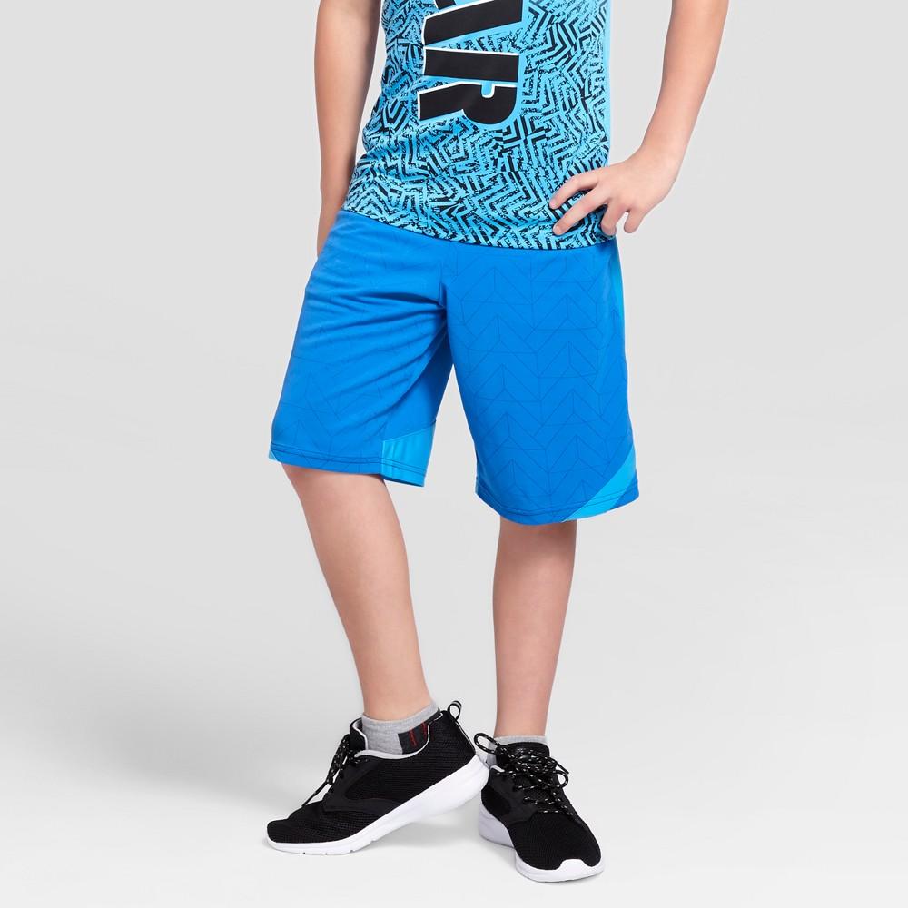Boys Novelty Basketball Shorts - C9 Champion Hydro Blue L