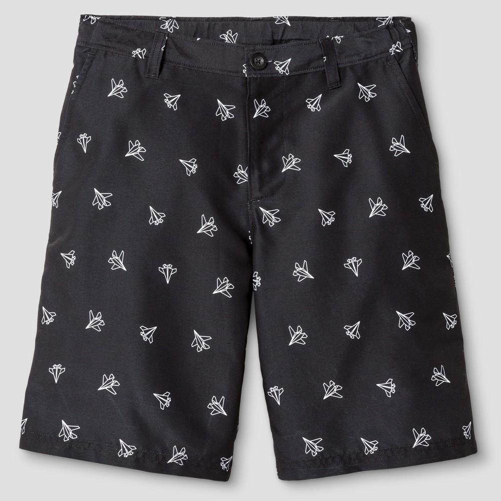 Boys Printed Golf Shorts - C9 Champion Black Print S