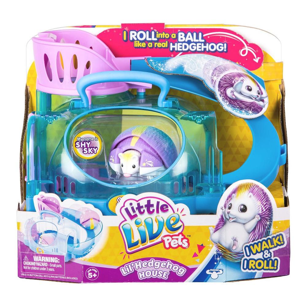 Little Live Pets Lil' Hedgehog House, Multi-Colored