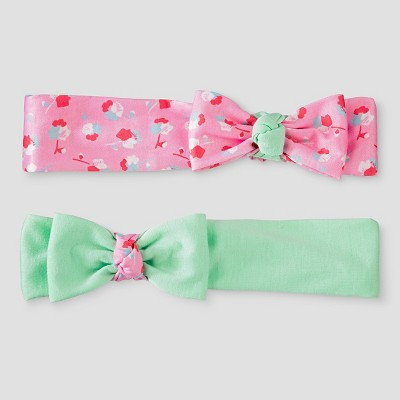 Toddler Girls' 2pk Bow Headwraps Cat & Jack™ - One Size