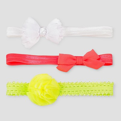 Toddler Girls' 3-Pack Headbands Cat & Jack™ - Multi-colored