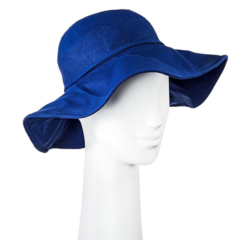 Womens Fabric Floppy Hat - Merona, Blue