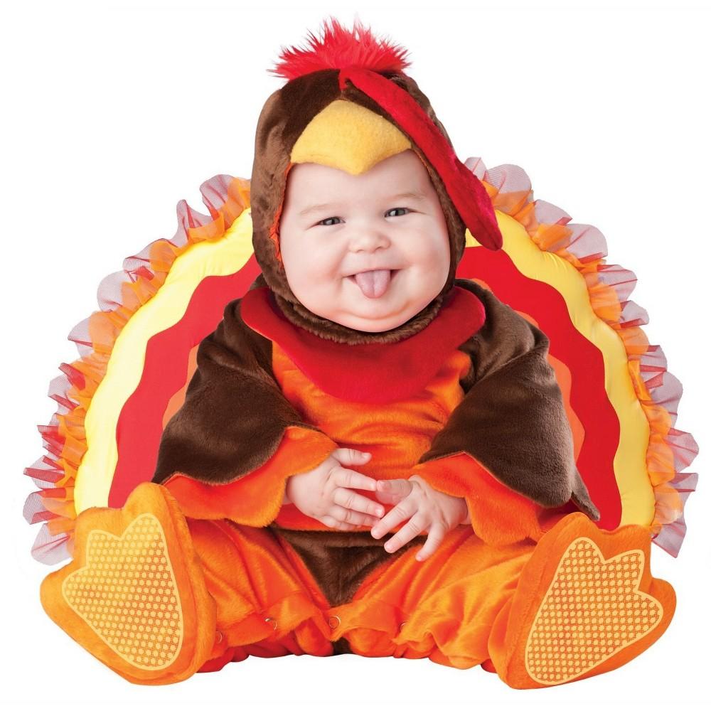 Lil Gobbler Infant Costume - (6-12 Months), Infant Unisex, Size: 6-12 M, Multi-Colored