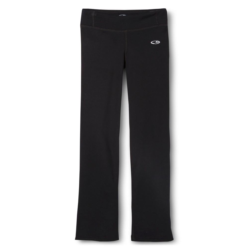 Girls Long Performance Pant Black S - Shorts - C9 Champion, Size: S - Short