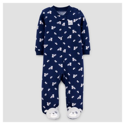 Baby Boys' Dogs Best Friend Cotton Sleep N' Play - Just One You™ Made by Carter's® Navy NB