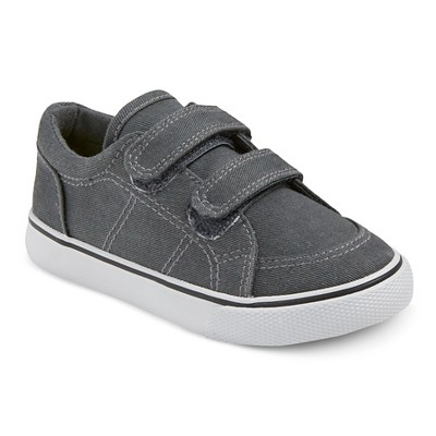 Toddler Boys' Carter Double Strap Sneakers Cat & Jack™ Grey 9