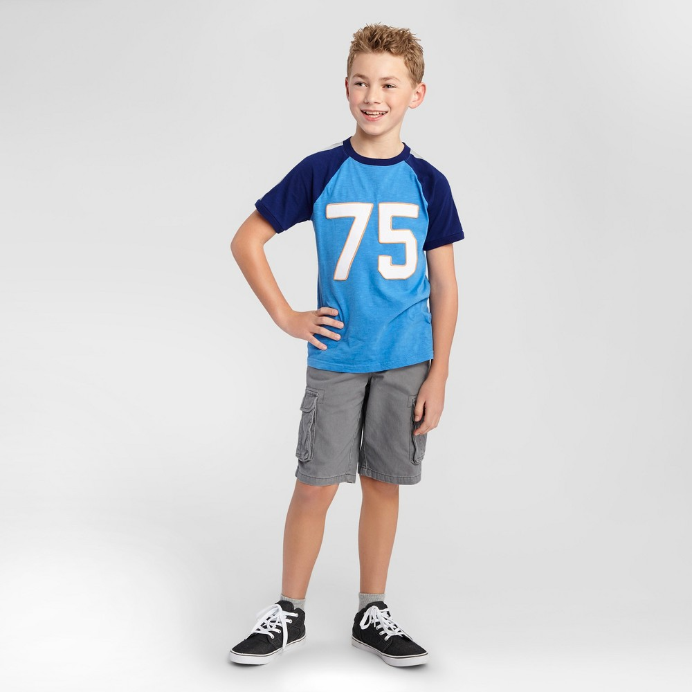 Boys T-Shirt - Cat & Jack Blue Bell Xxl