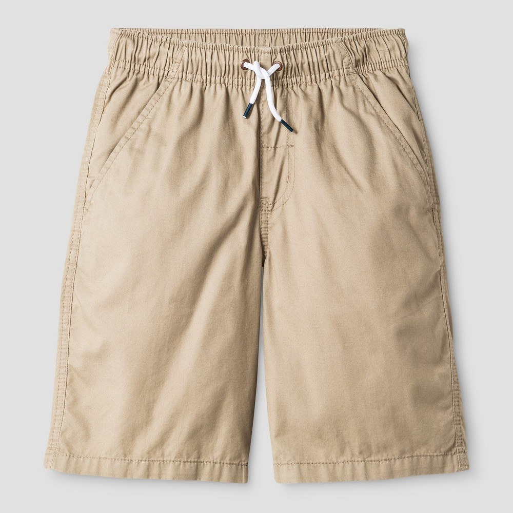Boys Pull On Playwear Shorts - Cat & Jack Vintage Khaki S