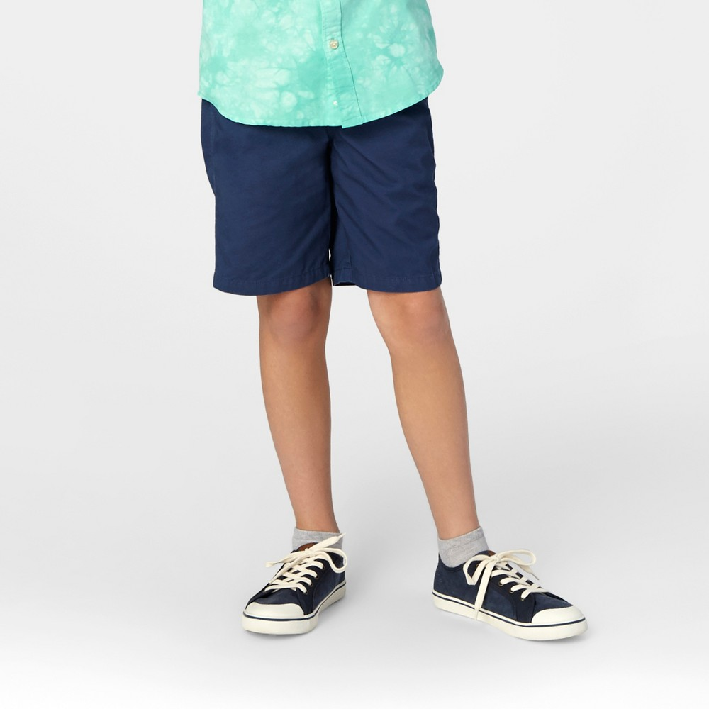Boys Pull On Playwear Shorts - Cat & Jack Insignia Blue L