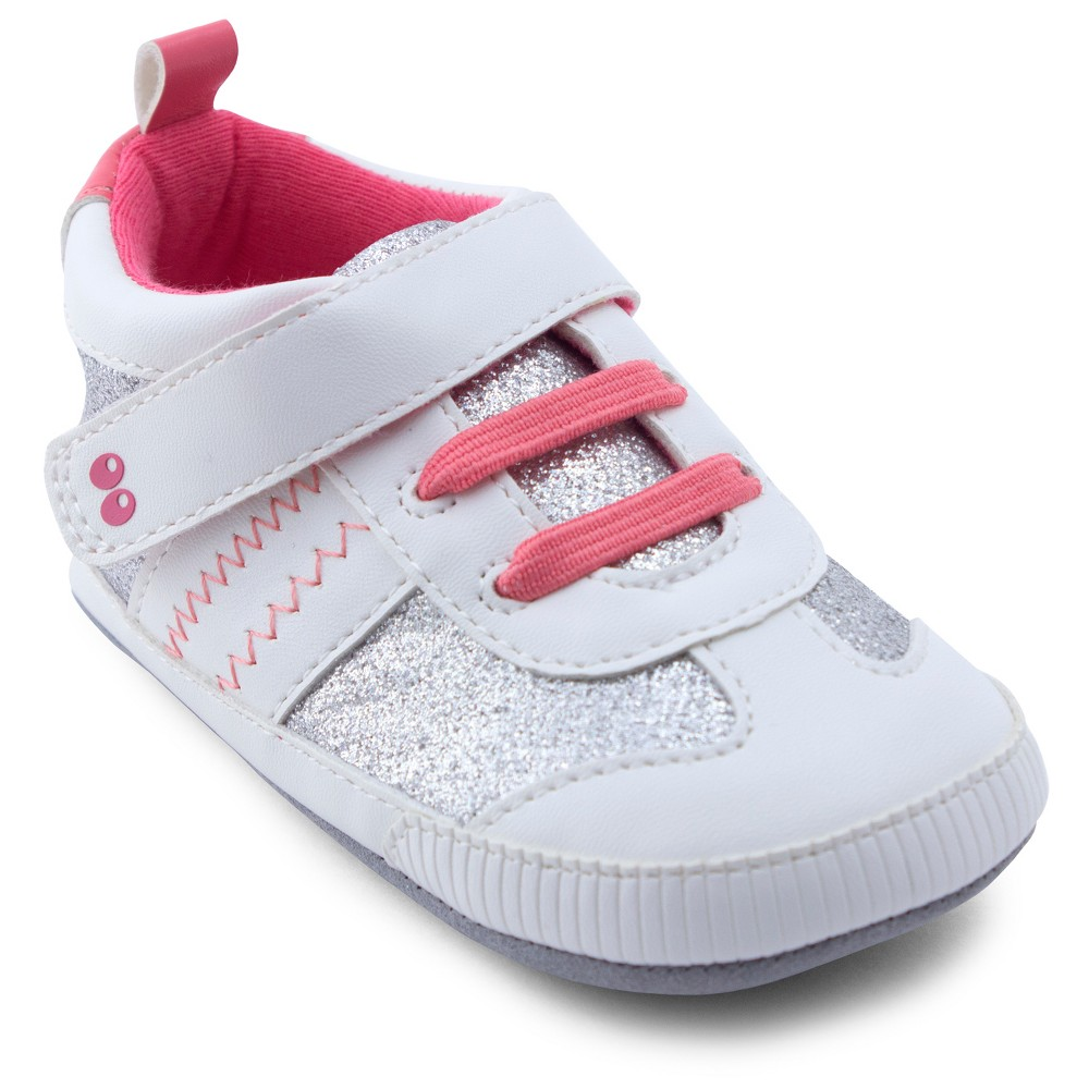 Baby Girls Surprize by Stride Rite Alice Sneaker Mini Shoes - White 6-12M