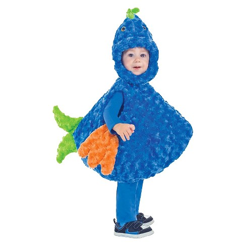 Big Mouth Blue Fish Child Costume - Small (4-6) - image 1 of 1
