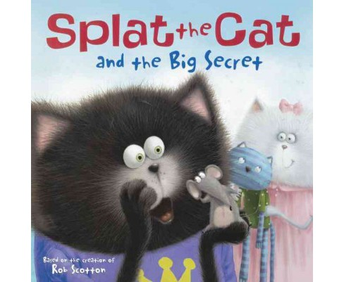 Splat the Cat and the Big Secret (Reprint) (Prebind) (J. E. Bright) - image 1 of 1