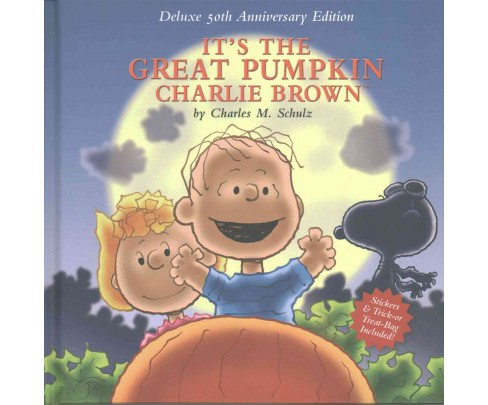 It's the Great Pumpkin Charlie Brown : 50th Anniversary Edition (Hardcover) (Charles M. Schulz) - image 1 of 1