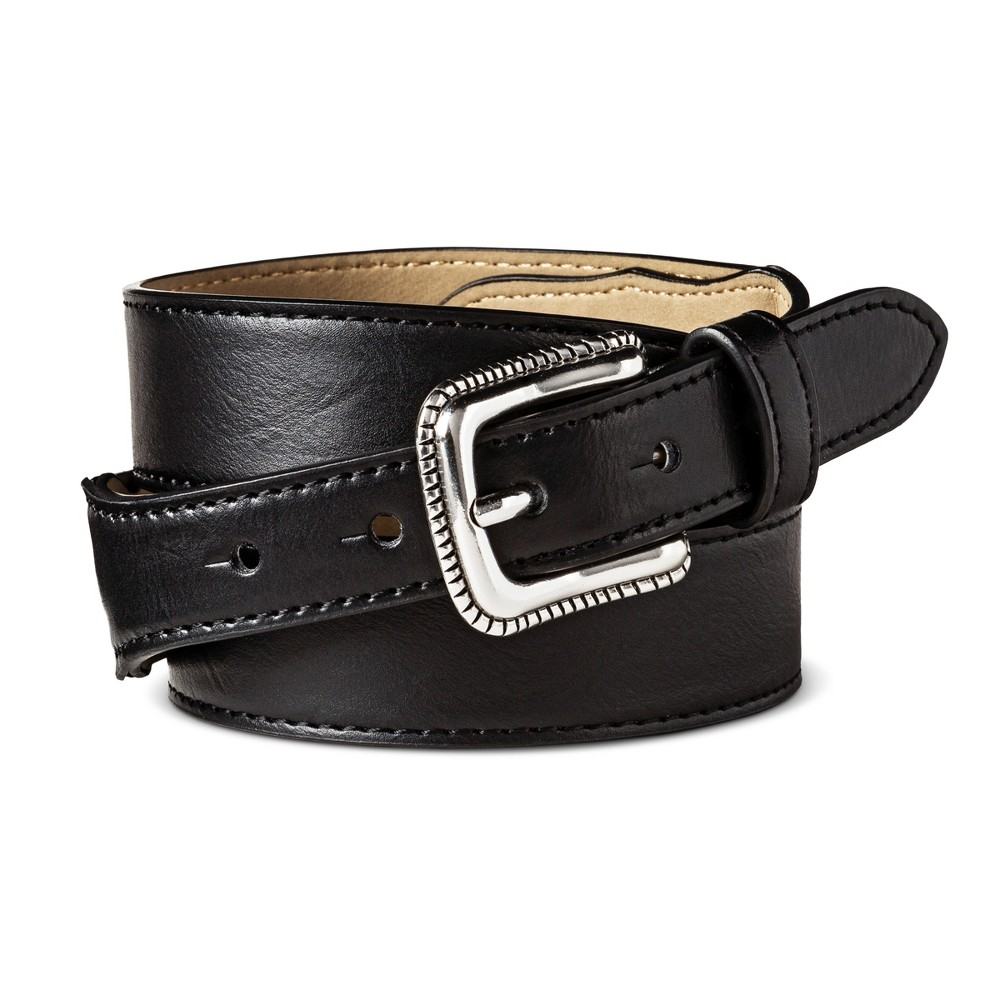 Womens Narrow Casual Western Belt - Mossimo Supply Co. Black XL