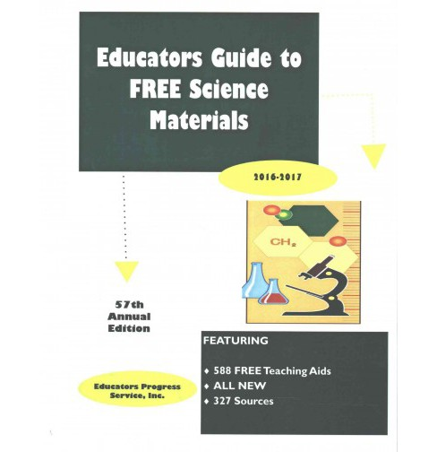 Educators Guide to Free Science Materials 2016-2017 (Paperback) - image 1 of 1
