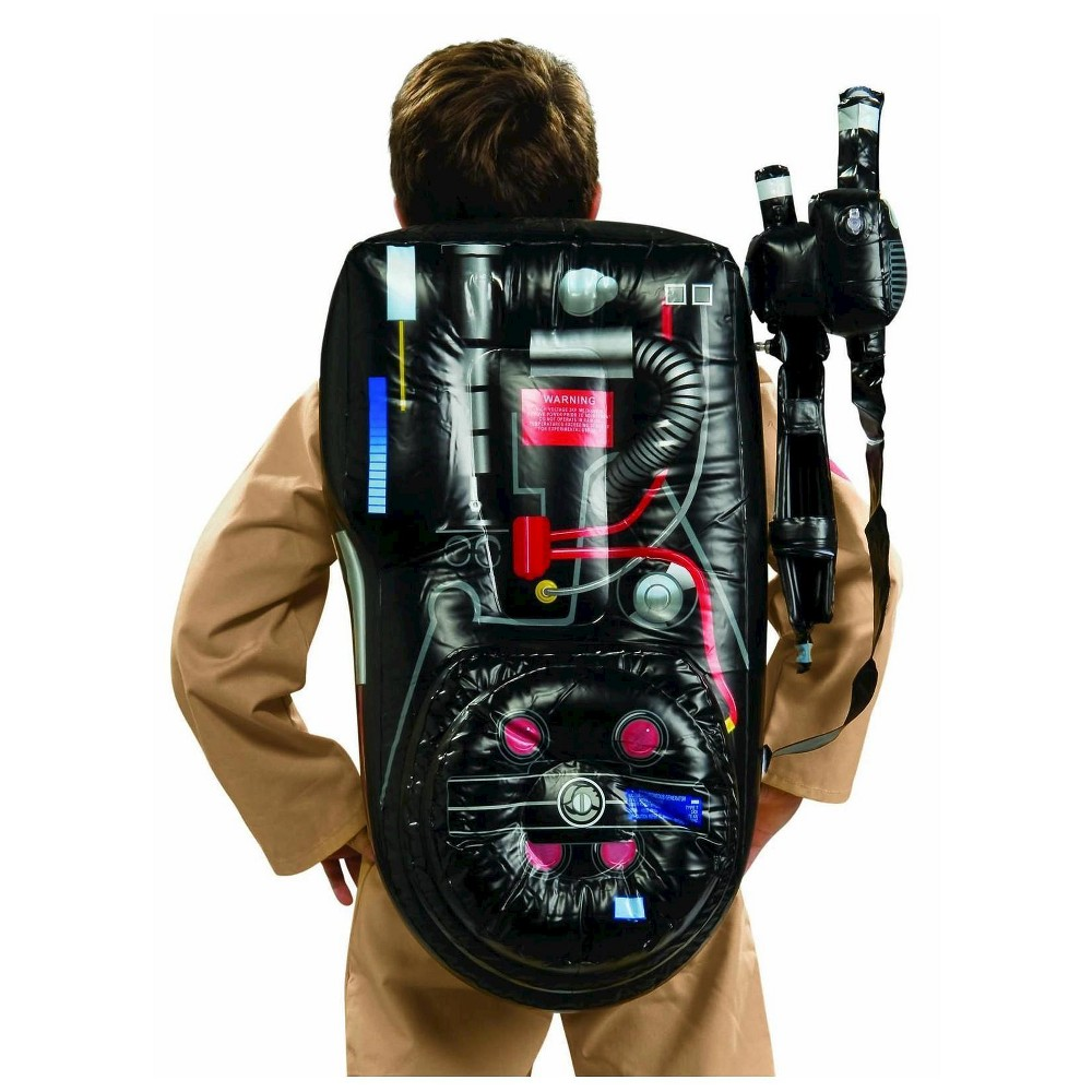 Ghostbusters Inflatable Backpack - One Size Fits Most, Adult Unisex, Multi-Colored